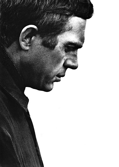 Steve McQueen was an intense man... in many ways hundred ways..