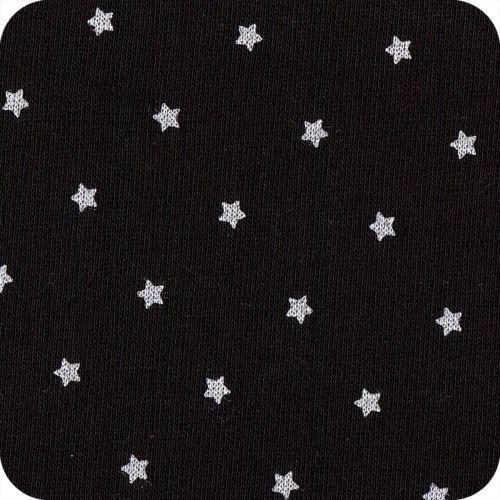 Molleton étoiles noir
