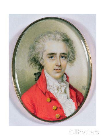 Miniature Portrait of a Man, 1787 by Diana Dietz