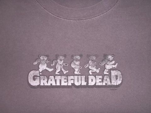 Grateful Dead Dancing Bears - Solid – Blue Mountain Dyes - Free Shipping over $10