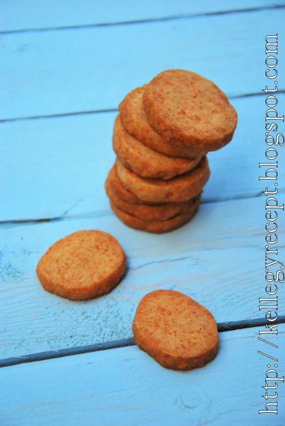 Mandy kertje és konyhája : Sajtos keksz