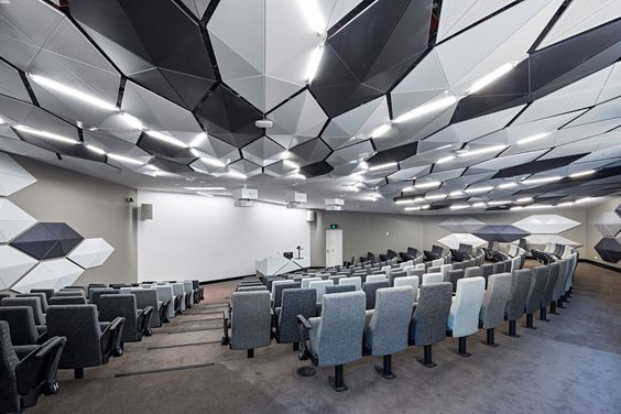 Contemporary Small Lecture Hall Auditorium Design