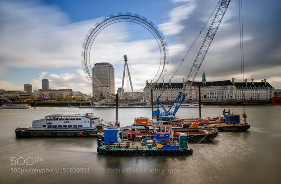 London Eye by thalerst City and Architecture Photography #InfluentialLime