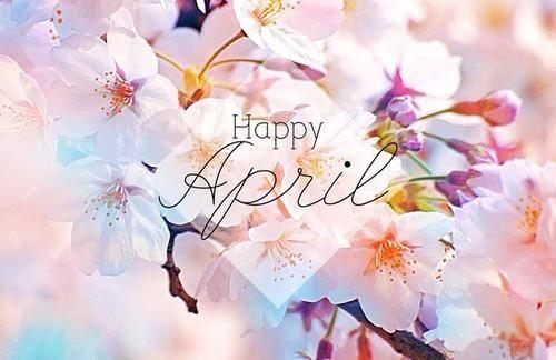 Happy April april hello april april quotes april is here april is coming happy april: