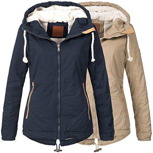 Bol Damen Winterjacke Parka Winter Jacke Innen Teddyfell Warm 15625 S Xxl 2farben Winterjacken Jacken Parka