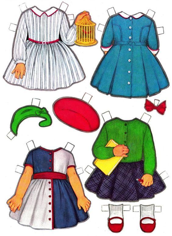 Paper Dolls~Vicky's New Clothes - Nena bonecas de papel - Picasa Web Albums