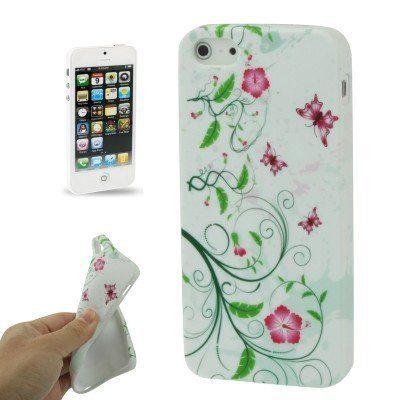 Iphone 5 Cover Blume Type6 von CNP  Protector Case Hardcover für iPhone 5 - Hülle für die Rückseite!    Die gelungene Mischung aus Schutz und poppigem Design, macht diese Schutzhülle unverwechselbar,  nützlich und praktisch. So ist dieses Case ein unverzichtbares Accessoire.