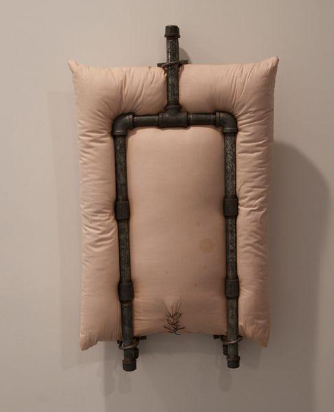 Pink Pillow - Pillows 1962-63 by Stephen Antonakos - Nalata Nalata