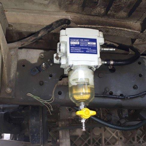 سپار پالایشگاهی کوچک برای محافظت از موتور دیزل شما سپار فیلتر تصفیه گازوئیل فیلتر دیزل کامیونت فیلتراسیون سوخت Separ Home Appliances Vacuum Cleaner Vacuum