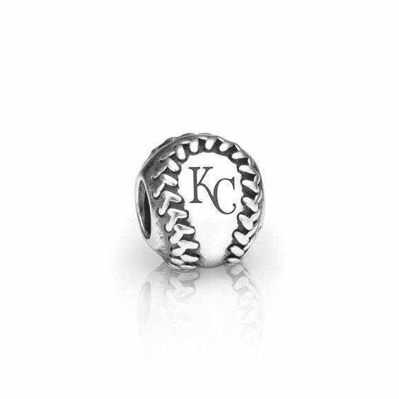 Pandora Kansas City Royals Baseball Charm!