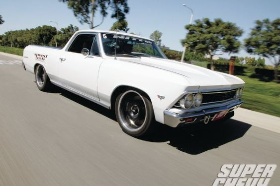 After he found out his first El Camino was going to be a nightmare, Erich Monteith found and purchased a second 1966 Chevy El Camino and was ready to enjoy it.   - Super Chevy Magazine