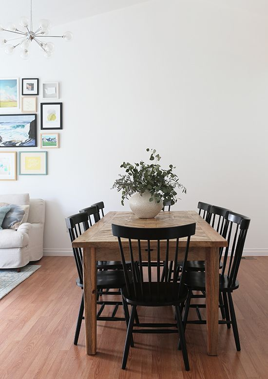 Dining Room Update Cozy Minimalism At Home In Love Dining Room Cozy Dining Room Updates Minimalist Dining Room