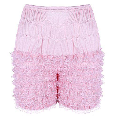 Ladies Ruffles Underwear Casual Slips Petticoat Knickers Shorts Cotton Bottoms