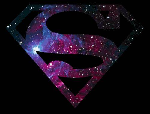 Imagen de superman, galaxy, and gif