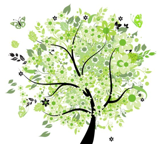 Green Spring Tree PNG Clipart Picture | Trees | Pinterest | Clip art ...