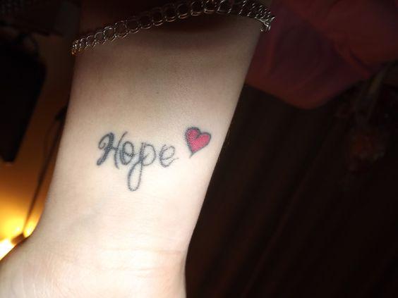 Always have hope <3