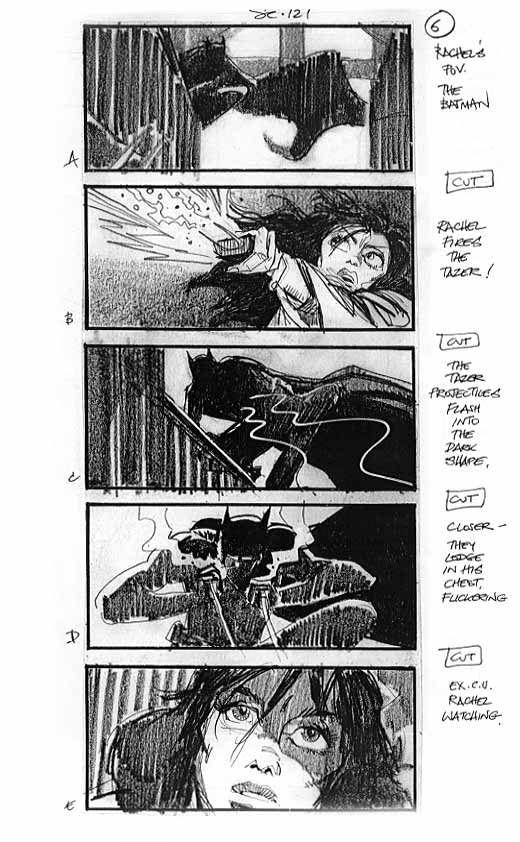 Martin Asbury Batman Begins Storyboard Artist  Storyboards
