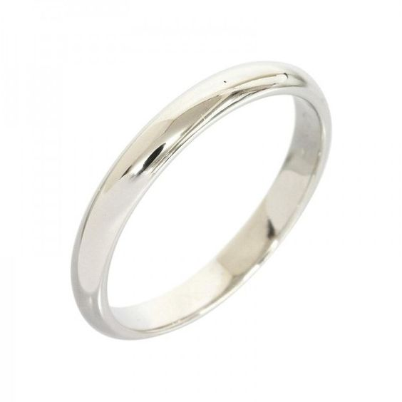 Pre-owned Cartier Pt950 Platinum Wedding Band Ring ($360) ❤ liked on Polyvore featuring jewelry, rings, pre owned jewelry, cartier ring, platinum ring, platinum jewelry and platinum wedding rings