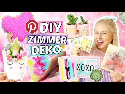 5 Geniale Pinterest Zimmer Deko Diys Tumblr Zimmerdeko Selber Machen Einhorn Diys Youtube Zimmerdeko Diy Sachen Deko