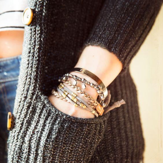 Arm candy #Bracelets #HCoStyle