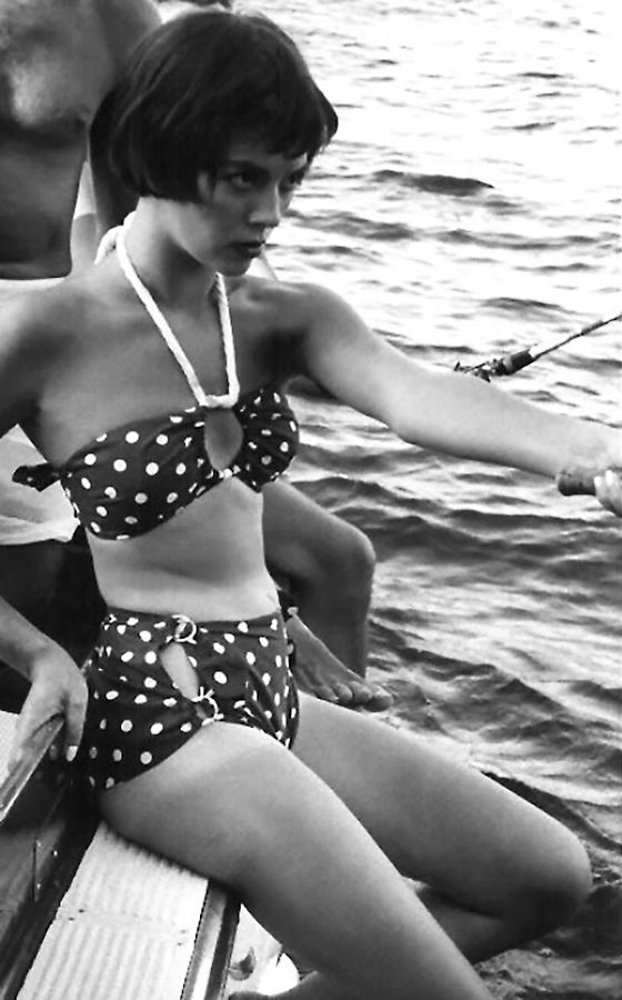 Natalie Wood. not only my namesake but amazing swim suit!:
