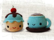 Mr. Coffee and Miss Cupcake Pattern (Anleitung)
