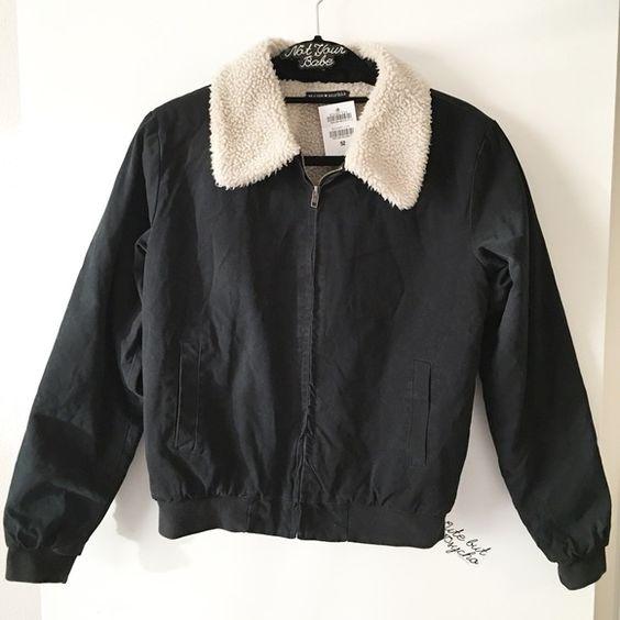 BNWT black Nelson fur jacket NWT | Coats The o&39jays and Sleeve