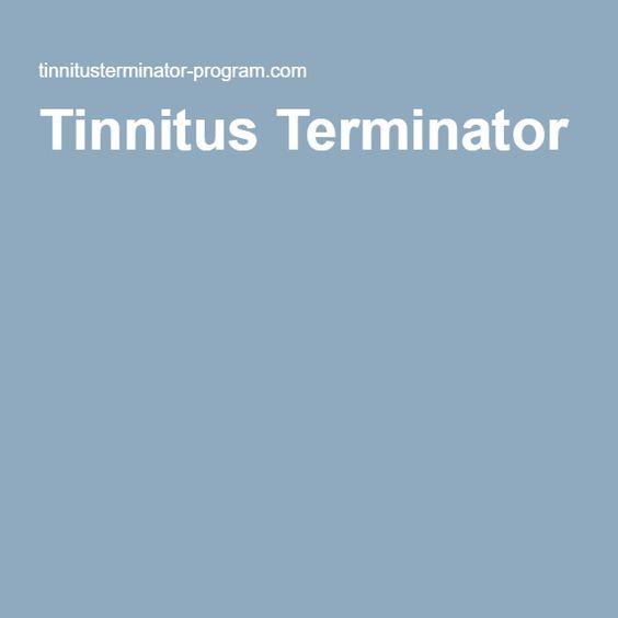 #Tinnitus Terminator