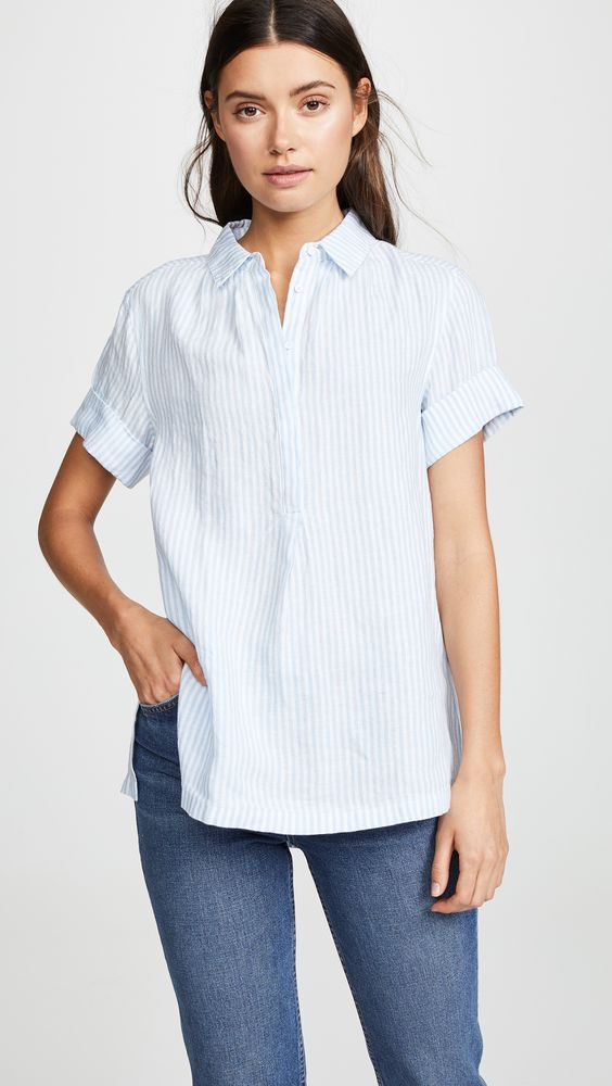 AYR The Burst Linen Shirt | SHOPBOP