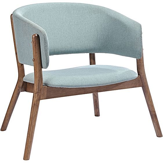 Wescott Aqua Armchair By Iniko Fabric Lounge Chair Accent Chair