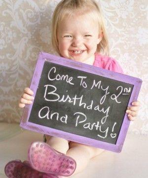 Tolle Einladungsidee für den Kindergeburtstag. Noch mehr Ideen gibt es auf www.Spaaz.de
