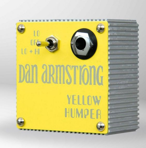 the most influential pedal builder you ve never heard of the dan armstrong yellow humper. Black Bedroom Furniture Sets. Home Design Ideas