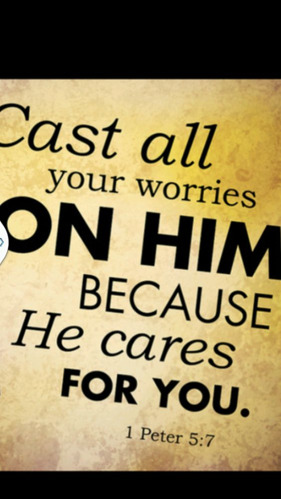 . Psalm 55:22New International Version (NIV) 22 Cast your cares on the Lord