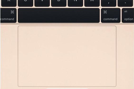 Equipado com um atuador que produz respostas táteis, o trackpad irá dar a impressão de ser clicável