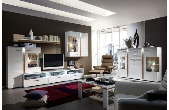 Nouveauté : Ensemble meuble de #salonmoderne - Meuble de salon design - Meuble et Canape.com