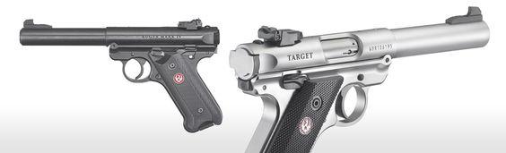 Ruger® Mark IV™ Target Rimfire Pistol Models