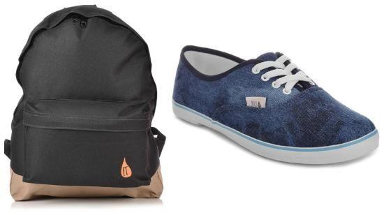 mochilas e tenis na volta as aulas 2014 kanui