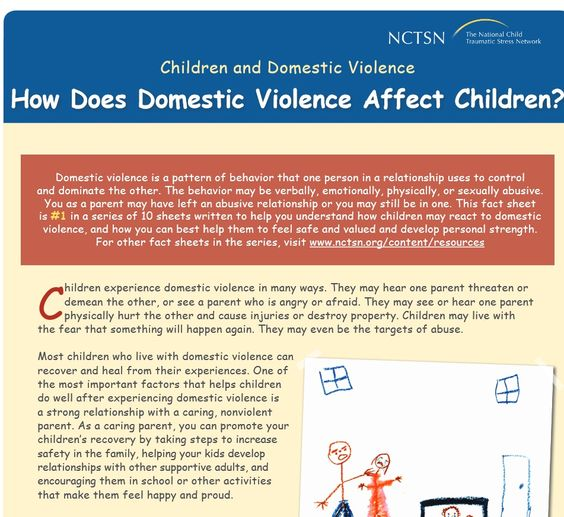 "how domestic violence affects children Domestic violence and children children in homes where domestic violence occurs may be witnesses to abuse, may themselves be abused, may suffer harm ""incidental"" to the domestic abuse, and may be used by the batterer to manipulate or gain control over the victim the wo."