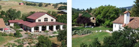 """Bishop's Ranch, Healdsburg. Well, they don't do """"weddings"""", but they do offer space for family retreats and gatherings. Must have group of at least 12 for them to cook for group. Yum."""