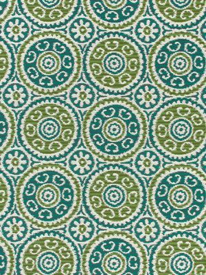 teal ikat fabric suzani fabric modern upholstery fabric teal apple green fabric by