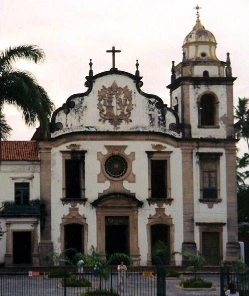 Iglesia en Olinda. Recife, Brasil