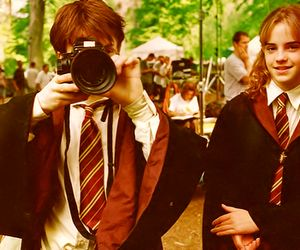 harry potter, hermione, magic, camera and foto