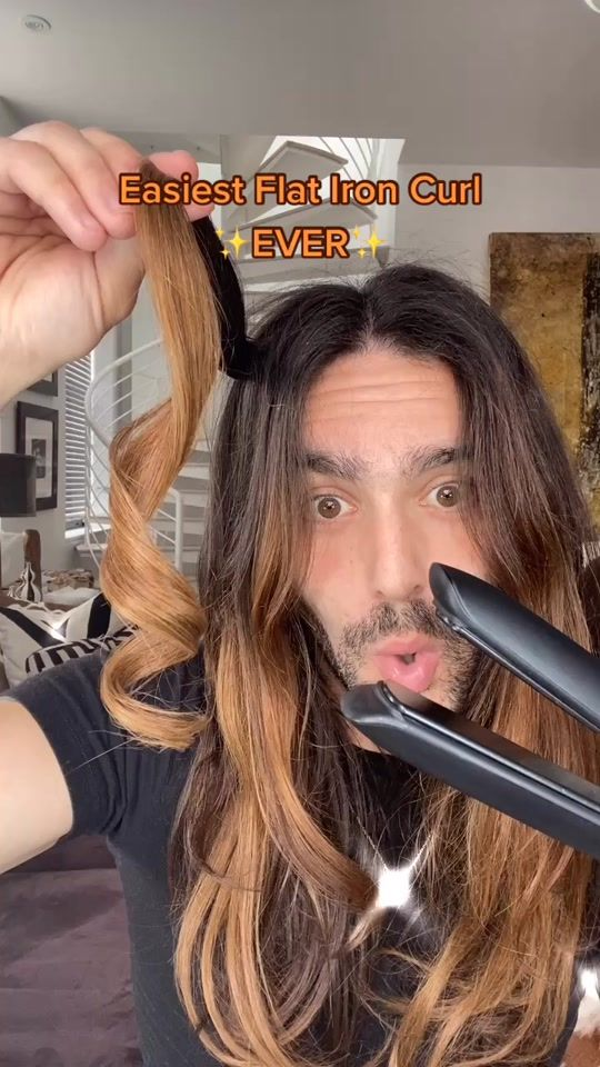 37+ Curling with a flat iron video ideas