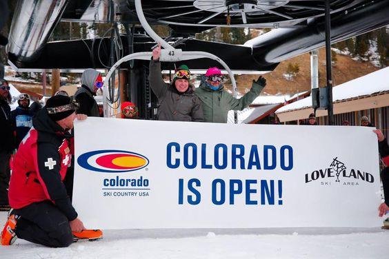 Colorado Ski Season Opening Day 2015 | OpenSnow