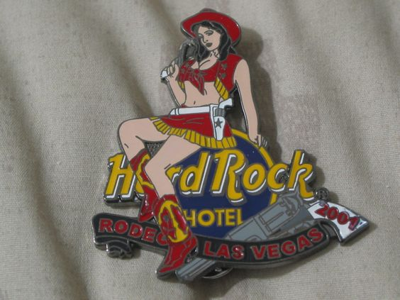 A Junkee Shoppe Junk Market Stop: HARD ROCK Hotel Casino Las Vegas 01 Staff Rodeo Pinback ... For Sale Click Link Here To View >>>> http://ajunkeeshoppe.blogspot.com/2015/12/hard-rock-hotel-casino-las-vegas-01.html