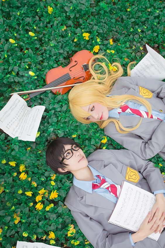 Shigatsu wa Kimi no Uso - Arima Kousei & Miyazono Kaori: