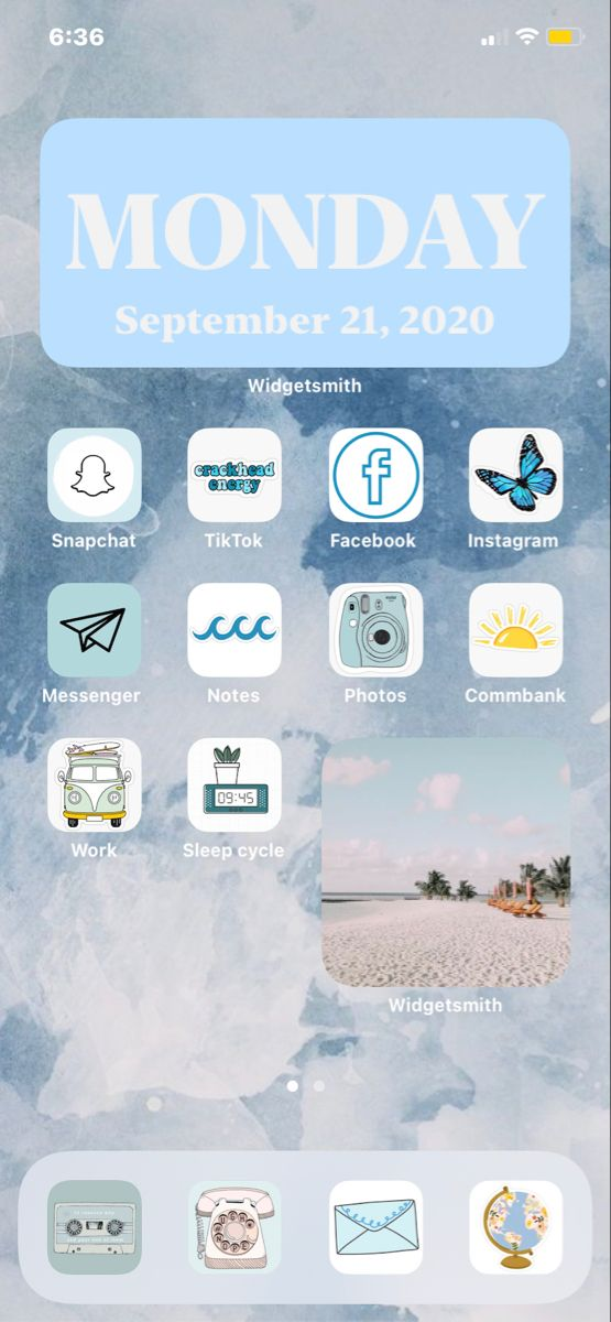 Beach Ios14 Home Theme Iphone Wallpaper Video Iphone App Layout Iphone Wallpaper Images Cool ios 14 backgrounds aesthetic