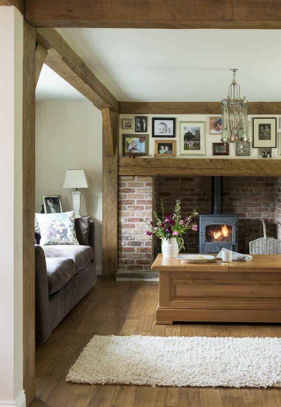 Border Oak A Way To Display Photos H Fireplace