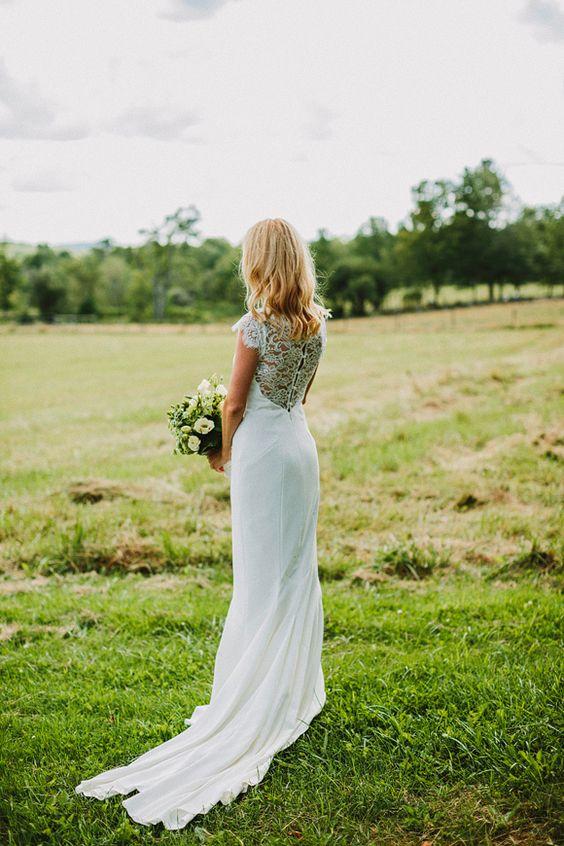 Nicole Miller #wedding gown
