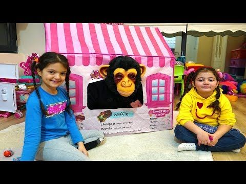 Masal Oyku And Monkey Play With Pink Playhouse Funny Kids Video Http Manyfunny Fu Sports Fashion Photography Sports Clothes Fashion Funny Videos For Kids